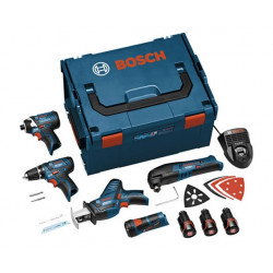 Combo de máquinas Bosch MONSTER KIT 10,8 V LI