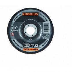 Disco Aluminio Rhodius RS24-125x7
