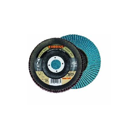 Disco abrasivo de láminas Rhodius 180mm gr. 60