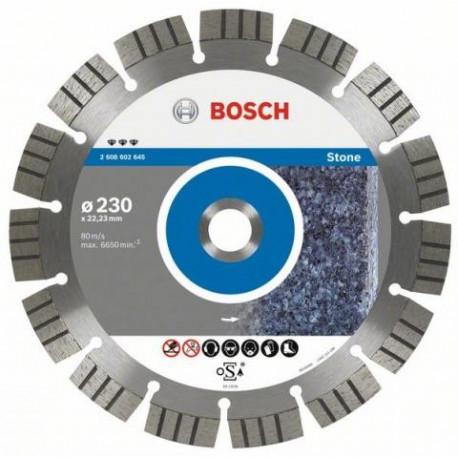 Disco diamante cantero Bosch 230 x 3,0 x 12 mm