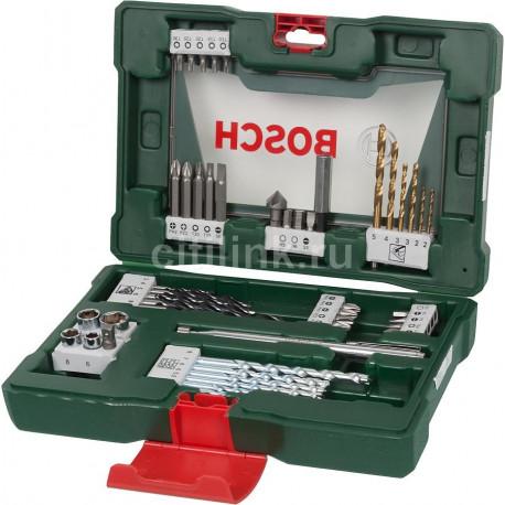 Maletín Bosch V-Line 48 accesorios taladrar y atornillar