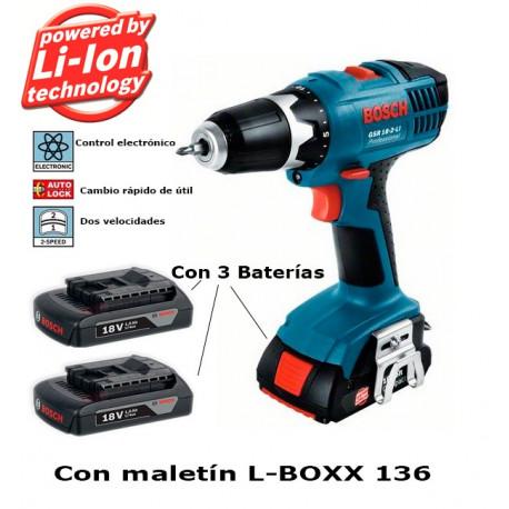 06019A8305 Atornillador Bosch GSR 1800 Li