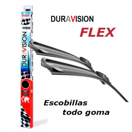 "Duravisión Flex Escobilla 17"" (435mm)"