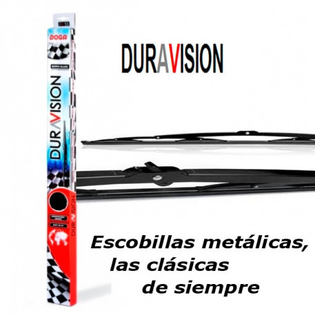 "Escobilla Duravisión Metal 600mm.(24"")"