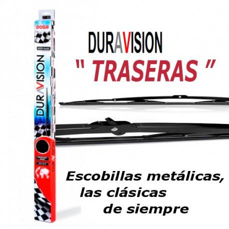 """Escobilla Duravisión Metal Trasera 405mm.(16"""")"""