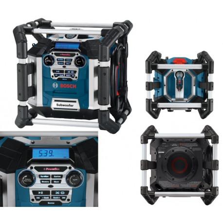 Cargador de radio de obra Bosch GML 50