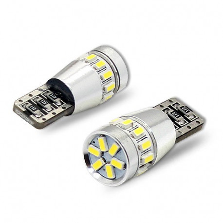 2 Bombillas led Tipo T10 18 3014SMD Canbus