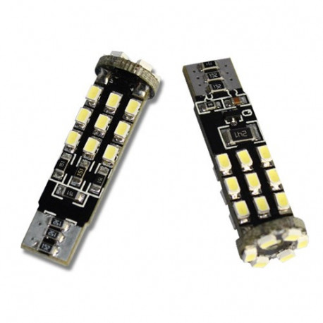 2 Bombillas led Tipo PL-T10-24-1210SMD Canbus-2