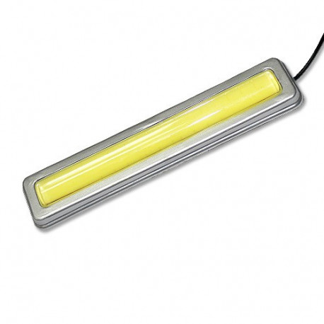 Plafón Silver metal 10W COB Light bar