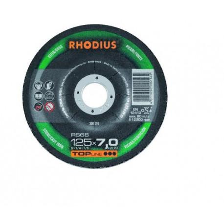 Disco desbaste piedra Rhodius RS66 115x7.0x22.23