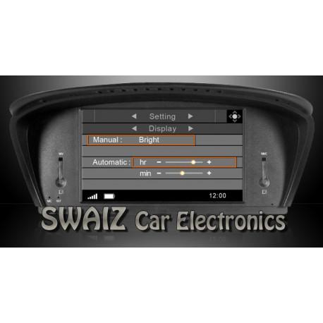 """NAVEGADOR DYNAVIN BMW E60 y E90 (CON IDRIVE) (D 99) Pantalla 8"""""""