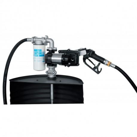 Conjunto para suministro de gasolina, keroseno o gasoleo