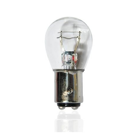 Caja 10 Lámparas halógenas mini BAY15D 12V/21/5W Transparente E8