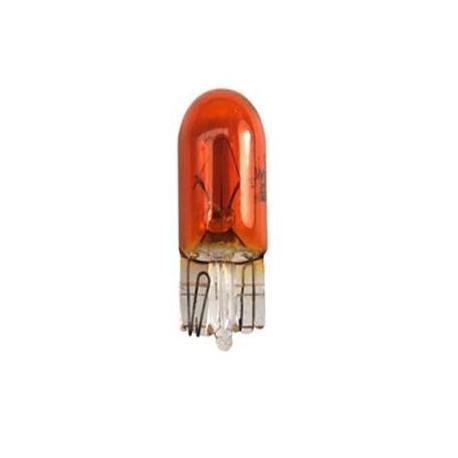 Caja 10 Lámparas halógenas mini T10-WY5W 12V/5W Ambar E8
