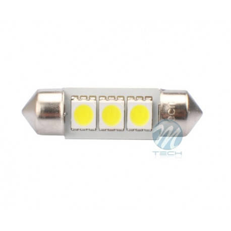 2 Bombillas de LED Festoon de 36mm Can Bus