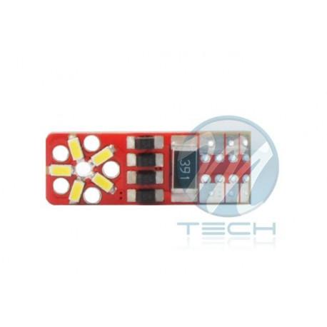 Blister x2 Lámpara led L333 - W5W 12xSMD3020SMD 12V CANBUS - Blanco