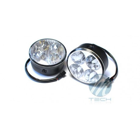 Luz diurna DRL LED 225HP RL+E4 2x4 High Power 12V