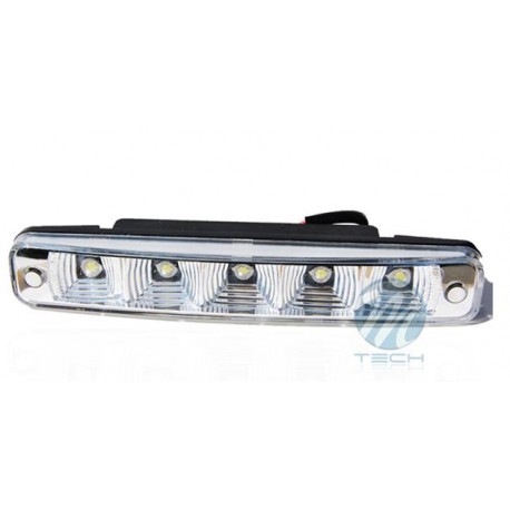 Luz diurna DRL LED 507HP RL+E8 2x5 High Power 12V