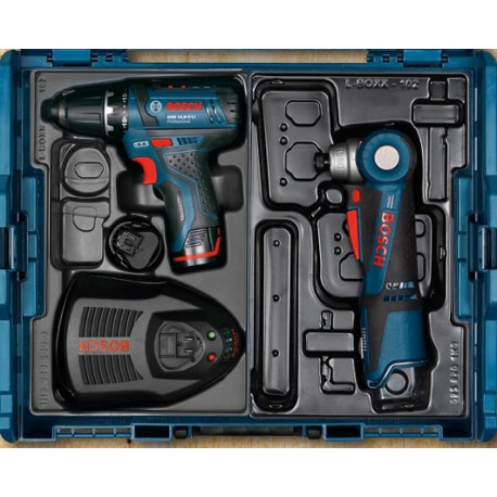 Pack atornilladores Bosch GSB10,8-2-LI + GWI10,8V-LI + 3 BAT. 2Ah