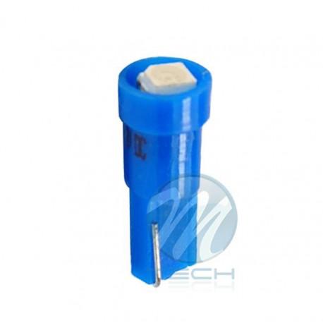 Lámpara led L003 - T5 1xSMD3528 Azul 12V