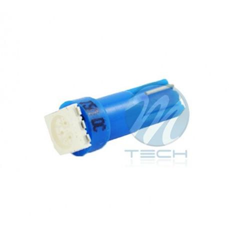 Lámpara led L053 - T5 1xSMD5050 Azul 12V