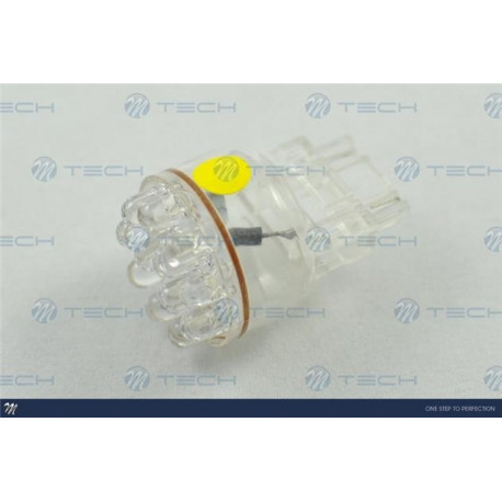 Lámpara led L041 - 3156 12LED 5mm Amarillo 12V