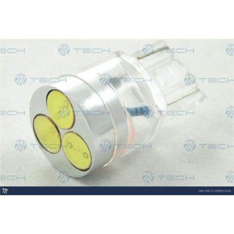 Lámpara led L044 - 3157 3xHP 0,5W Blanco 12V