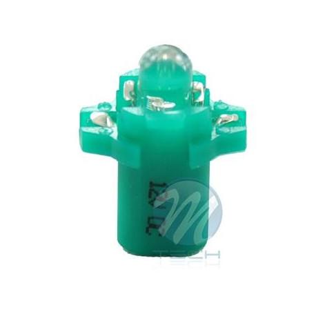 Lámpara led L047 - B8.3D redondo Verde 12V