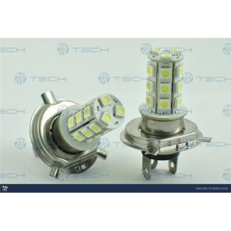 Lámpara led H4 21xSMD5050 Blanco 12V