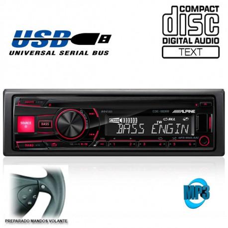 RADIO CD / USB ALPINE CDE180RM