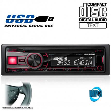 RADIO CD / USB ALPINE CDE181RR