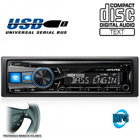 RADIO CD / USB ALPINE CDE182R