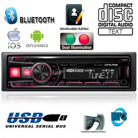 RADIO CD / USB ALPINE CDE183BT