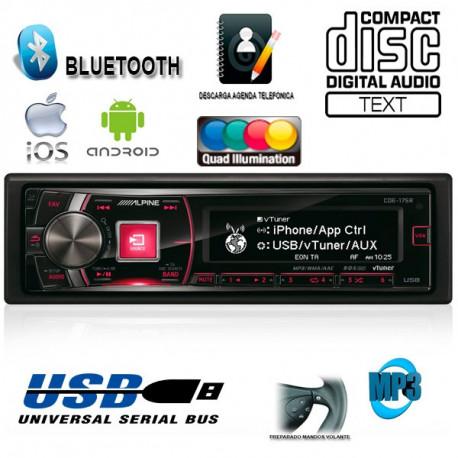 RADIO CD / USB ALPINE CDE175R