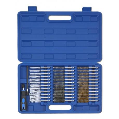 Kit de cepillos de limpieza para automoción - 38 piezas