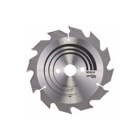 Hoja de sierra circular Optiline Bosch 250x30 80dientes