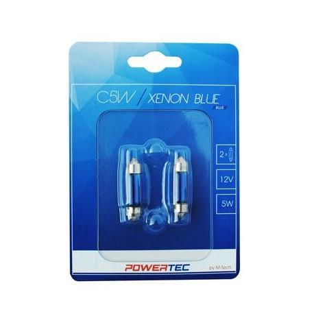 Powertec W5W T10 12V 5W WEGDE Blue