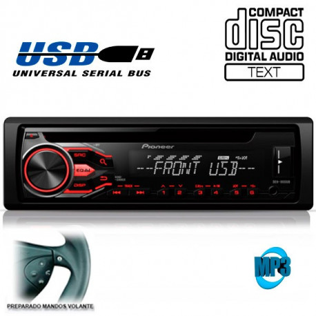 Radio CD USB Pioneer DEH 1800UB