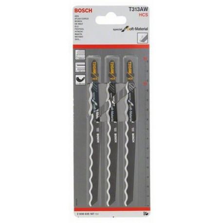 2608630566 Hoja de sierra calar Bosch U111C blister 3unid