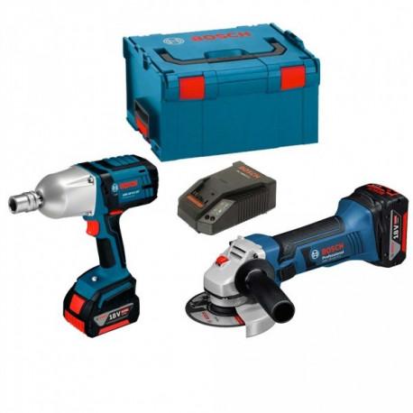 Kit Bosch 18V GWSV-LI + GSB18V-LI + 2 Bat 5Ah