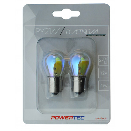 Caja 10 Lámparas halógenas mini R5W BA15S 12V/5W Transparente E8