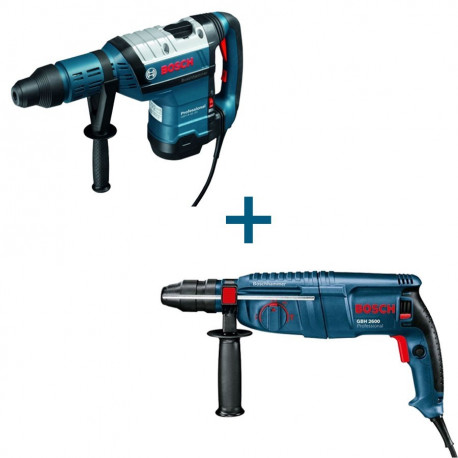 Combo Bosch GBH 12-52 DV Professional