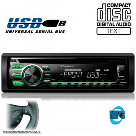 Radio CD USB Pioneer DEH 1700UBG