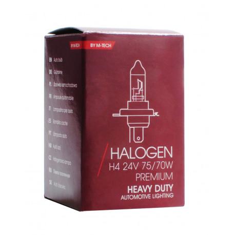 Lámpara halógena 24V 75/70W H4