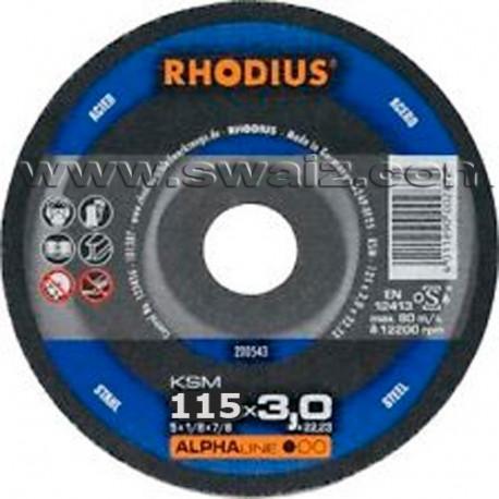 RHO200719 Disco Rhodius FTK33-115X3