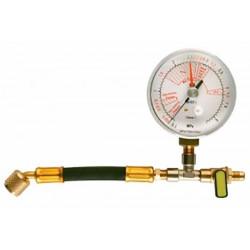 Manómetro de alta presión panel 80 mm.