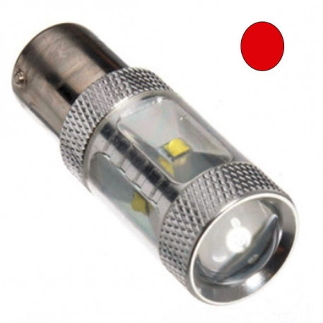 2 Bombillas led BA15S RED EPISTAR
