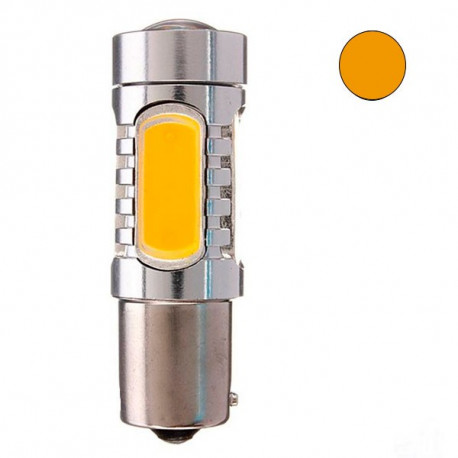 2 Bombillas led BAU15S YELLOW