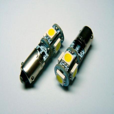 2 Bombillas led BAX9S WHITE