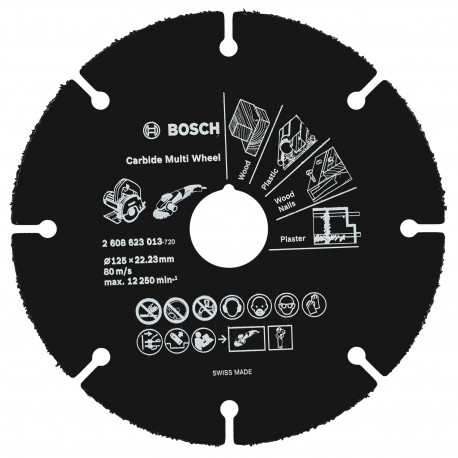 Disco Abrasivo MultiWheel Bosch 125mm